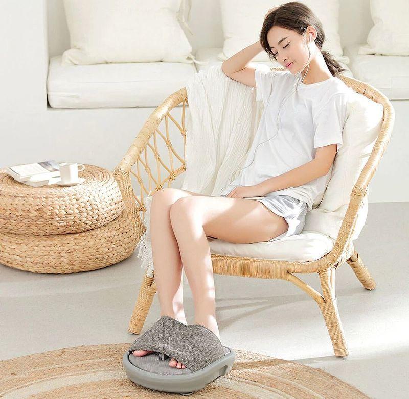 Массажер для ног Xiaomi LeFan Foot Massage (серый) 4